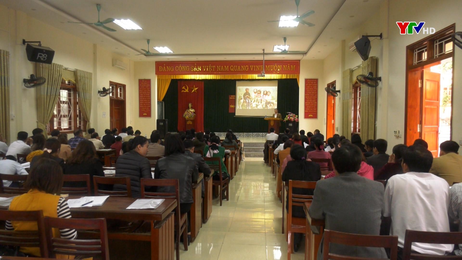 BCĐ chương trình Phát triển vùng huyện Yên Bình triển khai kế hoạch năm 2021