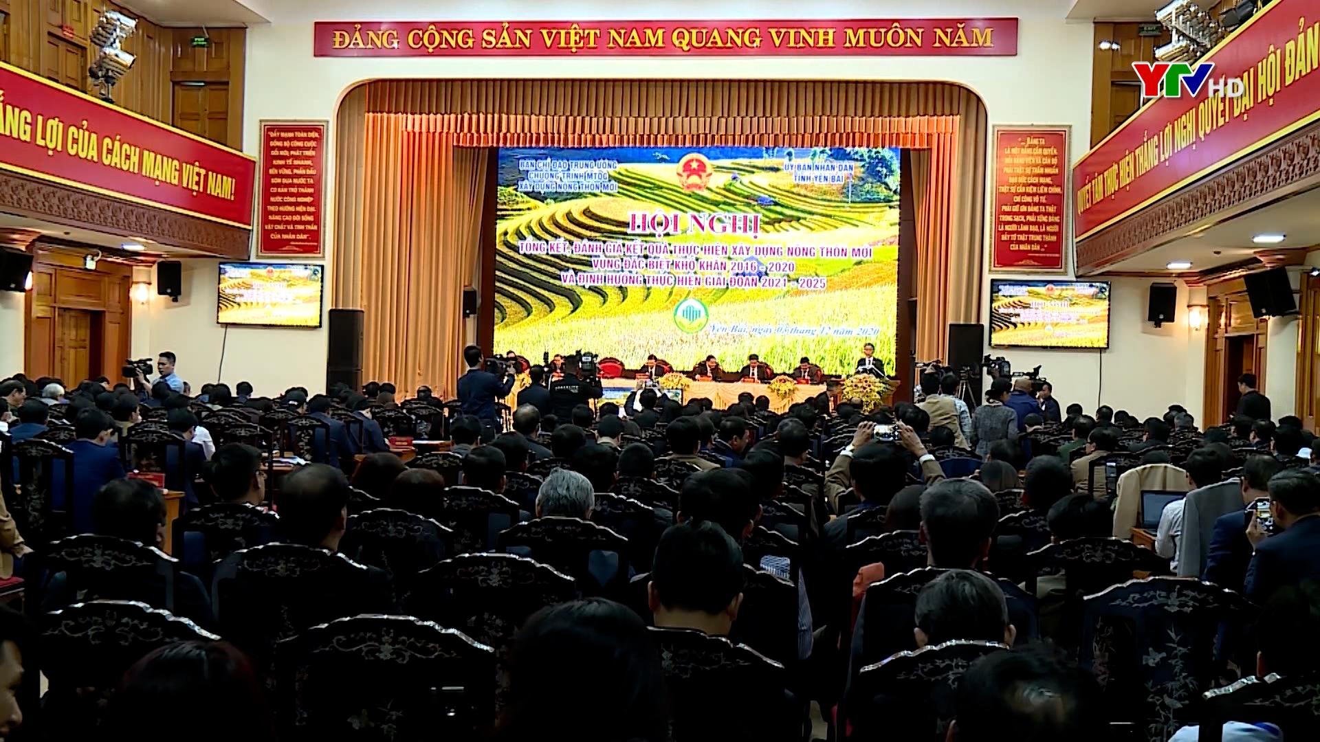 Hội nghị tổng kết xây dựng nông thôn mới vùng đặc biệt khó khăn giai đoạn 2016 - 2020, định hướng giai đoạn 2021 - 2025