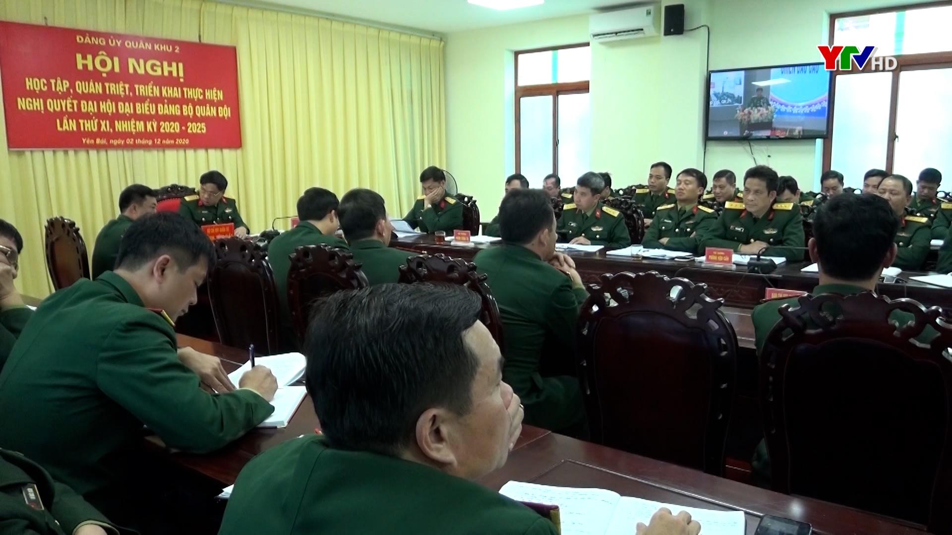 Đảng ủy Quân khu 2 quán triệt triển khai thực hiện Nghị quyết Đại hội Đảng bộ Quân đội lần thứ XI