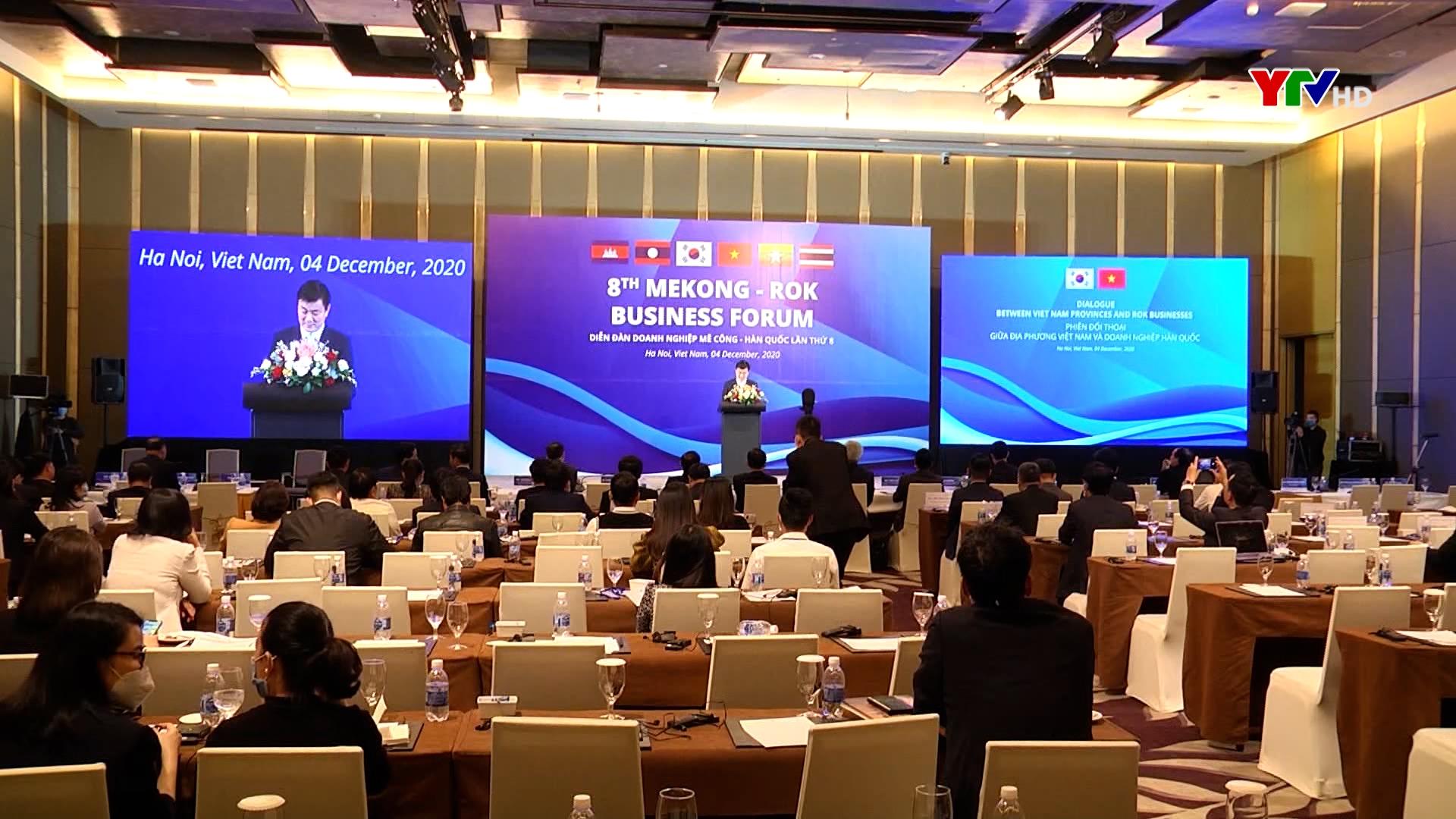 Tỉnh Yên Bái dự Hội nghị trực tuyến diễn đàn doanh nghiệp Mê Công – Hàn Quốc